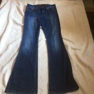 Joe's flare high waisted jeans